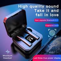 X9 سماعات لاسلكية بلوتوث V5.0 سماعة التحكم اللمس الرياضة TWS سماعات Sweatproof في الأذن سماعات مع ميكروفون