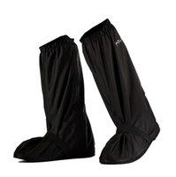 Kutup Yağmur Ayakkabı Kapağı Elektrikli Motosiklet Rider Su Geçirmez Yağmurluk Ayakkabı Kapak Yağmur Çizmeleri Erkekler Ve Kadınlar Yüksek Üst Yağmur Ayakkabı Kapak Siyah