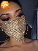 com broca de água Tiaodi Electric Syllable Nightclub Super Flash Inlak Diamond Jewelry Net, Maré Vermelha Máscara fria, feminino 1vbw