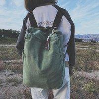 حقيبة الظهر Hyuely جودة الأخضر متعددة الوظائف حقيبة قماش المرأة mochila مدرسة للسفر حقائب الظهر فتاة