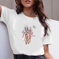 여성 의류 인쇄 엄마 인생 달콤한 엄마 여름 반소매 티셔츠 인쇄 여성 셔츠 T 여성 티셔츠 탑 캐주얼 여자 티