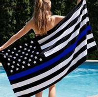 خط رقيقة الأزرق العلم أعلام الشرطة الأمريكية 3x5ft الولايات المتحدة الأمريكية الانتخابات العامة راية ل رابحة المشجعين W77