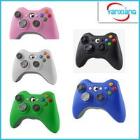 Controlador de juegos de 10pcs para Xbox New Brand Wireless Gamepad Game Pad Joypad Controller para Microsoft Xbox 360 Calidad YX-360-01