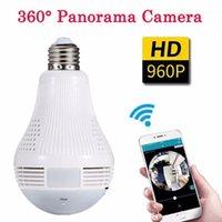 Kameralar WIFI HD 920 P IP 360 Mini Kamera 4 K DVR P2P Kamera Kablosuz Gözetim Ampul Video Kaydedici PK SQ13 SQ111