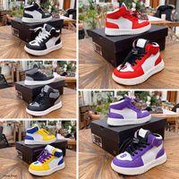 2021 Novos Crianças J1 Sapatos de Basquete J1 Branco Infravermelho Preto Cimento Crianças Sneakers com tamanho de alta qualidade 26-35