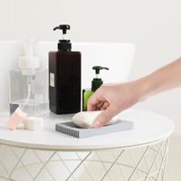 Caja de jabón de jabón creativo caja de soporte de jabón de drenaje suministros de baño caja de almacenamiento de ducha caja de jabón antideslizante Gadgets 117 K2