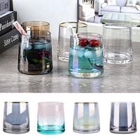 250 ملليلتر النبيذ الإبداعية النظارات الويسكي الزجاج الرئيسية بار اللوازم الملونة بنوم بنه كأس الزجاج 10 نمط XD24345