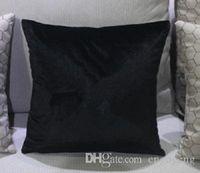 클래식 스타일 벨벳 쿠션 커버 45cm 60cm 베개가 가짜 가짜 모조 다이아몬드 패션 패턴 좋은 품질 베개 케이스 커버