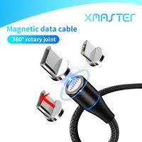 3A Магнитный кабель Quick Charge Тип C Быстрая зарядка 3FT 1м синхронизации данных Кабель Fast Charging Линия для Samsung S20 Huawei Xiaomi xmaster