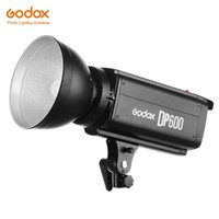 Flashes Godox DP600 600WS PRO Pographie Pographie Strobe Flash Studio Lampe Lampe Lampe (Mont Bowens)