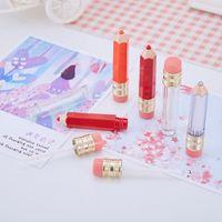 5ml vazio labelo labelo contêiner labial bálsamo tubos forma lápis diy etiqueta privada batom frascos recarregáveis mini recipiente de amostra