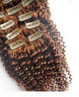 Клип в человеческих наращиваниях волос Remy Бразильский странный курсивый клип ins ins 8шт 8шт 100 г Нужен 1-3 набора человеческих волос Bundl10-36 дюймов