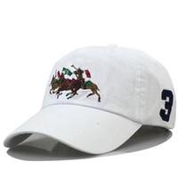 Polo Capas Designers de Luxo Paizinho Chapéu Boné de Beisebol para Homens e Mulheres Marcas Famosas Algodão Ajustável Skull Sport Golf Curved Sunhat