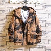 Softshell Winter Streetwear Giacca Uomo Big Size Camo Giacca Uomo Casual Fashion 2020 Chamarras Hombre OverCoat JJ60JK1