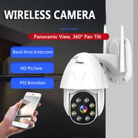 esterno IP Camera WiFi 2MP 1080P senza fili PTZ della cupola di velocità del CCTV IR Onvif telecamera di sicurezza esterna di sorveglianza digitale 5x zoom