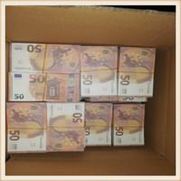 Collection Quality Best Movie New Play Banknote Euro Geschenke 09 Gefälschte Geschenk Kinder Party Spielzeug Banknote und Geld Prop Währung 990 DJVVL