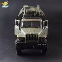 WPL B36 1:16 RC Car 2.4G 6WD Camión militar Crawn Crawler Command Communication Vehículo RTR Carrinho de Controle 201218