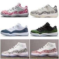 Jumpman 11 XI düşük SE basketbol ayakkabıları beyaz 11'ler düşükler erkek kadın ayakkabısı eğitmenler 36-47 yılan derisi ucuz