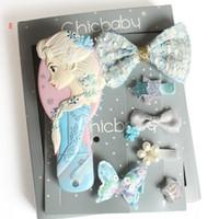 Ins Mädchen-Weihnachtsgeschenk-Haarschmuck mit Kamm-Blumen-Bogen-Schmetterlings-Kronen-Entwurfs-Haar-Haar-Zusatz-Geschenk-Mix Mode-Designs