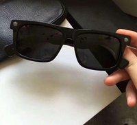 نظارات شمسية سوداء سوداء عدسة اسود عدسة Occhiali دا الوحيد