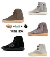 2021 Yeni 750 Gölgelendi Açık Spor Ayakkabı Erkekler için Kanye West Sıcak Satış 750 Ayakkabı Kaykay Sneakers Yüksek Üst En Kaliteli Atletik #hj
