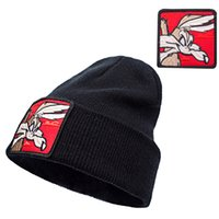 Wholesale-Fashion Casual Beanies For Men Women Warm Knitted Winter Hat Embroidery Cartoon Animal Caps Hip-hop Skullies Bone Garros