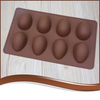 Simplicity Moule Chocum Chocolate Outil de bricolage Silicone Fournitures de silicone ECO Femme portable ECO Femme d'œuf en forme d'œuf en forme de Pâques 3 9sy K2