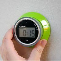 Nouveau minuterie de cuisine à écran LCD magnétique 15S à 99 minutes Compte à rebours de cuisine Compte à rebours de réveil de réveil Outil de cuisson T200323