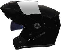 Полное лицо мотоциклетный шлем Flip Up Motorbike Шлем с двойным забралом солнца для женщин-мужчина Flip Up Motocross Casco Moto