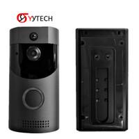 Syytech الفيديو اللاسلكية الاتصال الداخلي انخفاض استهلاك الطاقة الذكية الجرس B30 HD WIFI الأمن كاميرا + البطارية الداخلية TF بطاقة لملحقات المراقبة الأمنية