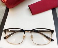 Cadre de lunettes de haute qualité 01300 Homme 53-18-145 planche + métal gros cadre pour lunettes sur ordonnance avec étui complet en gros Freeshaping