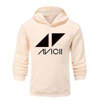 DJ Avicii Hoodies Hommes / Femmes Casual Sweat à manches longues Sweatwear Pull-shirt Sweat Sweat-shirt Hip Hop Hop Veste Vêtements1