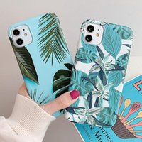 Retro Banana Leaves Phone Case For iPhone 11 11 Pro Max XR X...