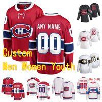 2020 Montreal Canadiens Hockey Jerseys 88 Nate Schmidt 6 Kaiden Guhle Brandon Baddock Josh Anderson Tyler Toffoli Jake Allen personalizado costurado