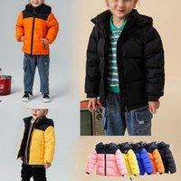 Kinder Warm Daunenmantel Reversible Perrito Jacke Kleinkind-Jungen-Mädchen-Kinder Reversible Chimborazo Hoodies Childs Nord Thick Overcoat