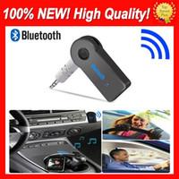 ستيريو الحقيقي 3.5MM الجديد الجري بلوتوث الصوت الموسيقى استقبال عدة السيارة ستيريو BT 3.0 المحمولة محول السيارات AUX A2DP ليدوي الهاتف MP3