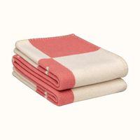 135x165cm nova manta lance cobertor crochê lã macia lenço de lã xaila portátil sofá quente cama lã de malha capa rosa cobertores