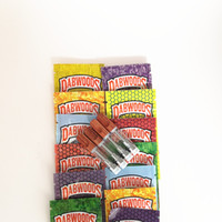 Carrinhos de madeira de Dabwoods 7 cores Saco de Embalagem 1ML 0.8ml Bobina de Cerâmica Dicas de Madeira Vape Cartuchos Th205 Vape Caneta Atomizadores De Óleo Vaporizadores vazios
