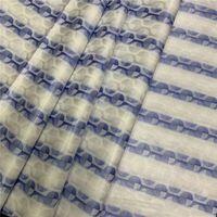 El algodón africano doble Color Bazin encaje de jacquard Tela Shadda Bazin Riche Getzner Guinea Brocade diseños para hombres Paño de Nigeria