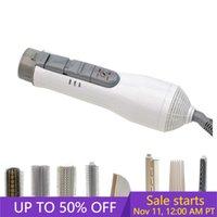 UKLISS 8 en 1 cepillo de aire caliente Secadora de pelo profesional de múltiples funciones fijado plancha de pelo Herramientas cepillo para el pelo que labra la herramienta Waver