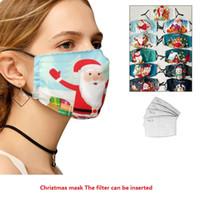 أقنعة عيد الميلاد الجديد القطن الأوروبية والأمريكية الشتاء أقنعة القطن الدافئة يمكن غسلها أقنعة الوجه القطن للكبار T3I51226