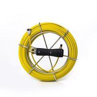 20 متر خط أنابيب الكابل المنظار تحت الماء المجاري استنزاف الأنابيب التفتيش جدار الكاميرا استبدال كابل reel1
