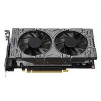 팬 냉각 에디션 4G 128bit DDR5 1050Ti GeForce GTX 1050 Ti 비디오 게임 그래픽 Card1