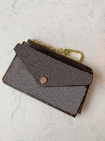 RECTO حاملي بطاقات فيرسو أعلى نوعية الرجال محفظة مع سستة عملة محفظة المرأة مصمم الجديدة محفظة صغيرة