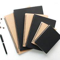 A5 B5 Spiral Dizüstü Dergisi Çizim Dizüstü Doktor Günlük Haftalık Planlayıcısı Sketchbook Izgara Boş Hattı Kağıt Okul Malzemeleri Kırtasiye1