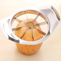 Paslanmaz Çelik Elma Dilimleme Sebze Meyve Dilimleme Elma Armut Kesici tart İşleme Mutfak Dilimleme Bıçakları Eşyası LX3474