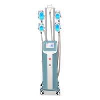 다기능 Cryo 5 손잡이 체중 감량 시원한 몸 조각 Cryolipolysis 지방 냉동 슬리밍 기계
