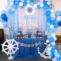113pcs Baby One Party Party Palloncini Garland 1st Birthday Party Decorations Bambini Sfondo da sposa Decorazione Babyshower Balon Arch 201203