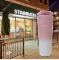 20 Designer Starbucks Tipo di esplosione Tipo di esplosione Vacuum Bock Lavender Goddess in acciaio inox Tazza di caffè in acciaio inox Accompagnamento Copia di coppia