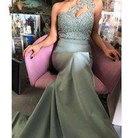 2021 Длинные вечерние платья Кружева Boidce Sexy Mermaid Prom Tresses Vestido De Festa Элегантные Платья Партии с Бисером